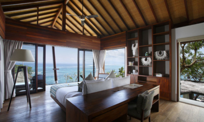 Bedroom with Sea View - Opera Villa - Nusa Lembongan, Bali