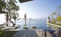 Pool Side Seating Area - Opera Villa - Nusa Lembongan, Bali