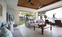 Living Area with Sea View - Opera Villa - Nusa Lembongan, Bali