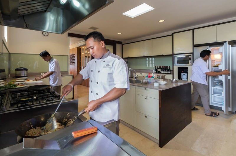 Kitchen with Chef - Pandawa Cliff Estate - Ungasan, Bali