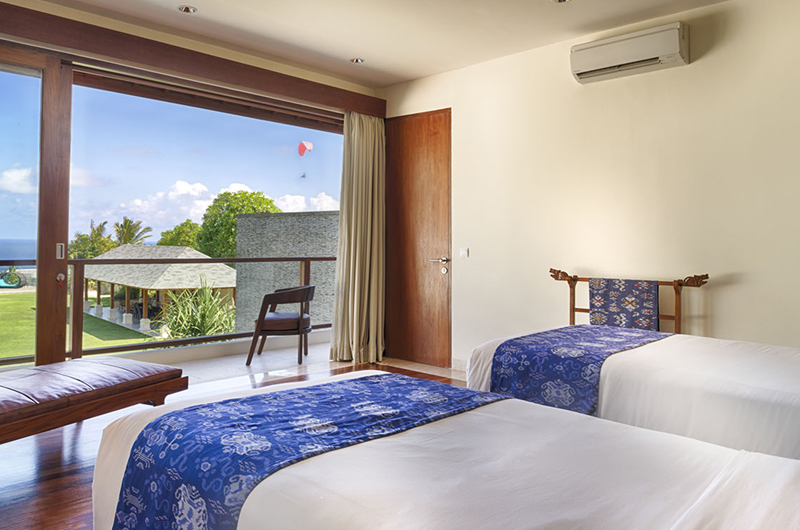 Twin Bedroom with Garden View - Pandawa Cliff Estate Villa Markisa - Ungasan, Bali
