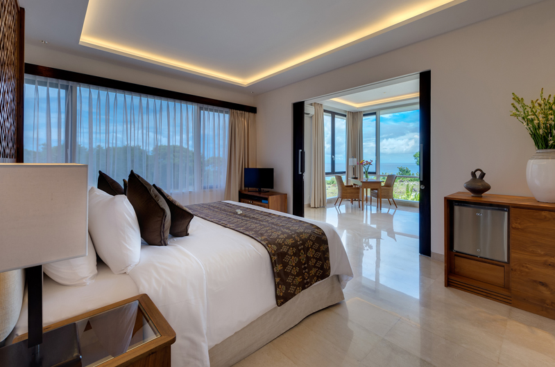 Bedroom with View - Pandawa Cliff Estate Villa Pala - Ungasan, Bali