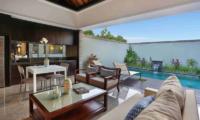 Living, Kitchen and Dining Area - Peppers Seminyak - Seminyak, Bali