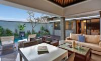 Pool Side Living Area - Peppers Seminyak - Seminyak, Bali