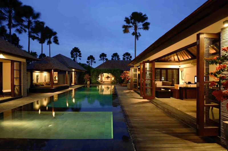 Pool at Night - Peppers Seminyak - Seminyak, Bali