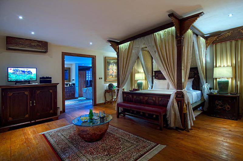 Bedroom and En-Suite Bathroom - Permata Ayung Garuda Wing Room - Ubud, Bali