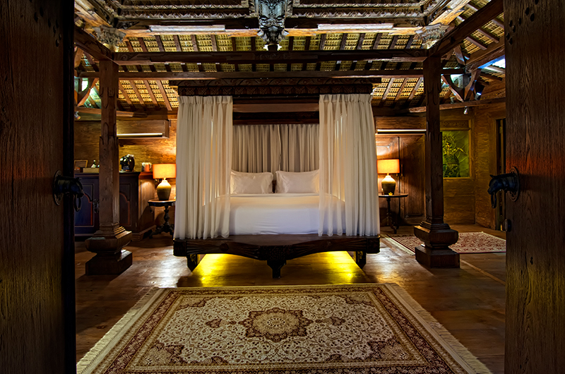 Spacious Bedroom - Permata Ayung Kudus Joglo House - Ubud, Bali
