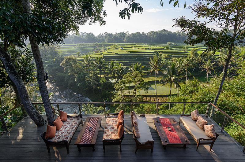 Outdoor Seating Area - Permata Ayung - Ubud, Bali