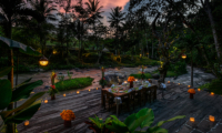 River Side Dining - Permata Ayung - Ubud, Bali