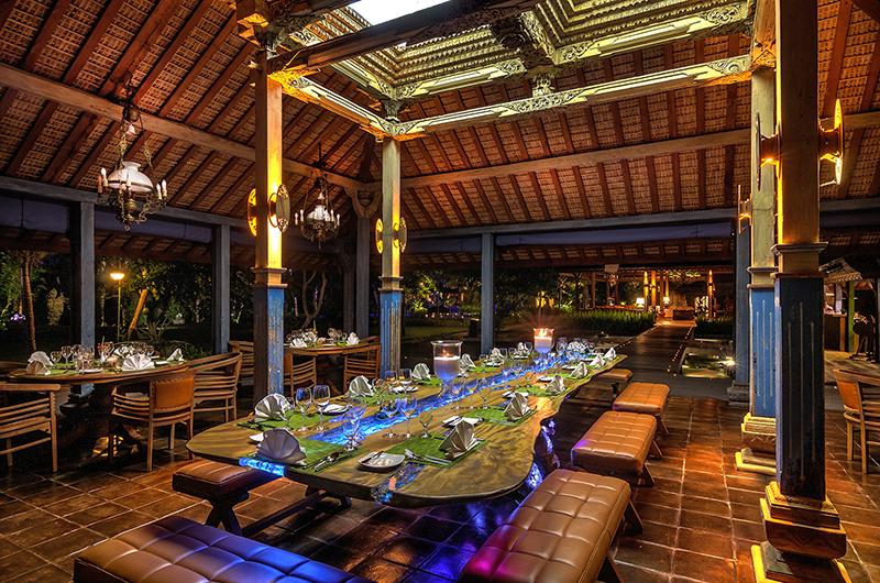 Dining Area - Permata Ayung - Ubud, Bali