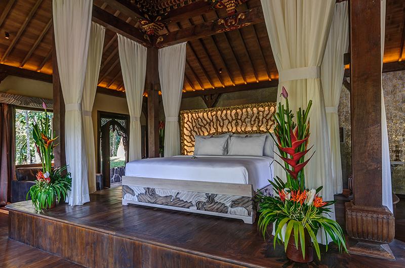 Bedroom with Seating Area - Permata Ayung Permata Bridal Chalet - Ubud, Bali