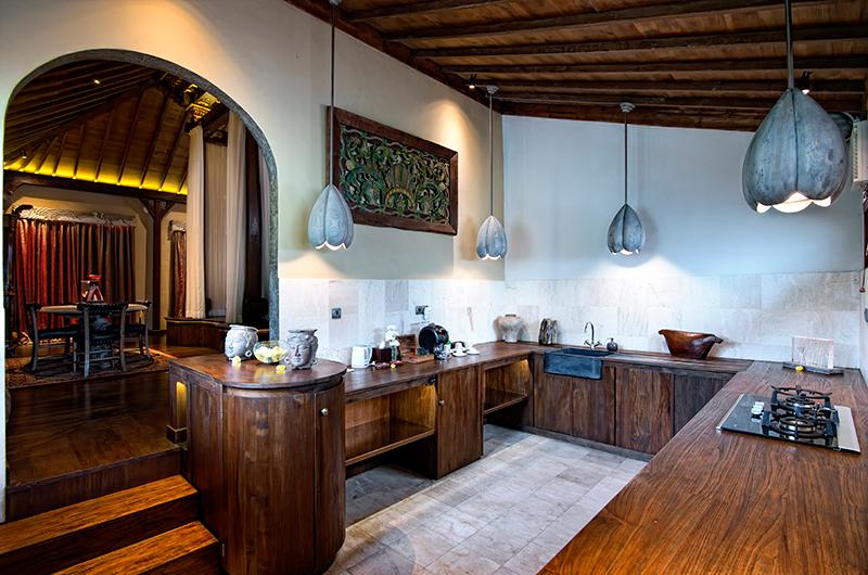 Kitchen Area - Permata Ayung Permata Bridal Chalet - Ubud, Bali