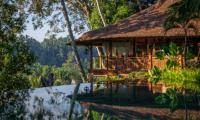 Gardens and Pool - Permata Ayung Royal Winongpati - Ubud, Bali