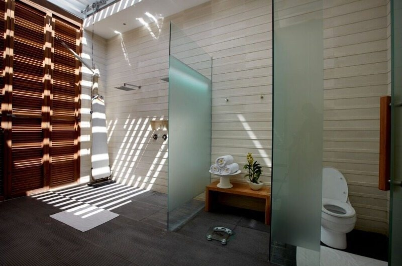 Bathroom with Shower - Pure Villa Bali - Canggu, Bali