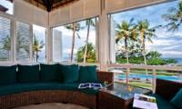Lounge Area with Sea View - Puri Nirwana - Gianyar, Bali