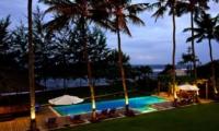 Swimming Pool at Night - Puri Nirwana - Gianyar, Bali