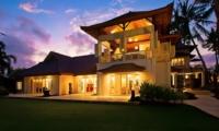 Exterior at Night - Puri Nirwana - Gianyar, Bali
