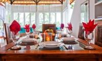 Dining Area - Puri Nirwana - Gianyar, Bali
