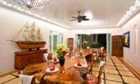 Dining Area at Night - Puri Nirwana - Gianyar, Bali