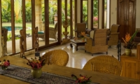 Living and Dining Area - Rumah Bali - Seminyak, Bali