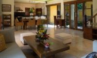 Indoor Living and Dining Area - Rumah Bali - Seminyak, Bali