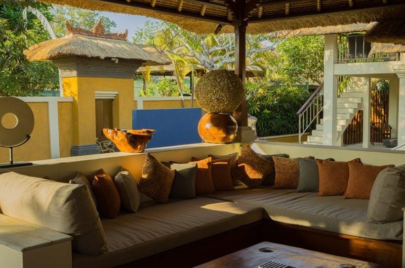 Outdoor Lounge - Rumah Bali - Seminyak, Bali
