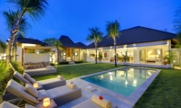 Pool Side Loungers - Sahana Villas - Seminyak, Bali