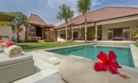 Pool Side - Sahana Villas - Seminyak, Bali