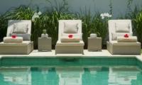 Sun Beds - Sahana Villas - Seminyak, Bali