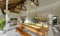 Living, Kitchen and Dining Area - Sahana Villas - Seminyak, Bali