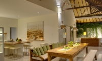 Kitchen and Dining Area - Sahana Villas - Seminyak, Bali