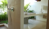 Bathroom with Shower - Sahana Villas - Seminyak, Bali