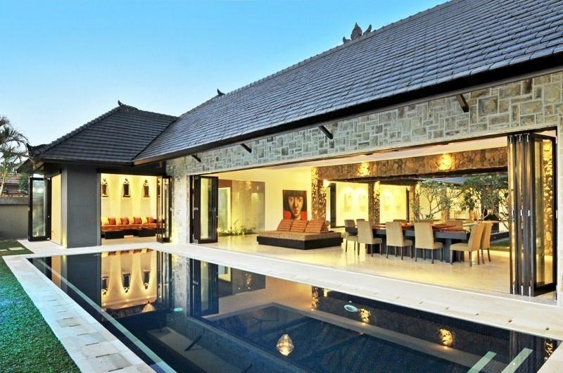 Swimming Pool - Samudra Raya Villa - Kerobokan, Bali