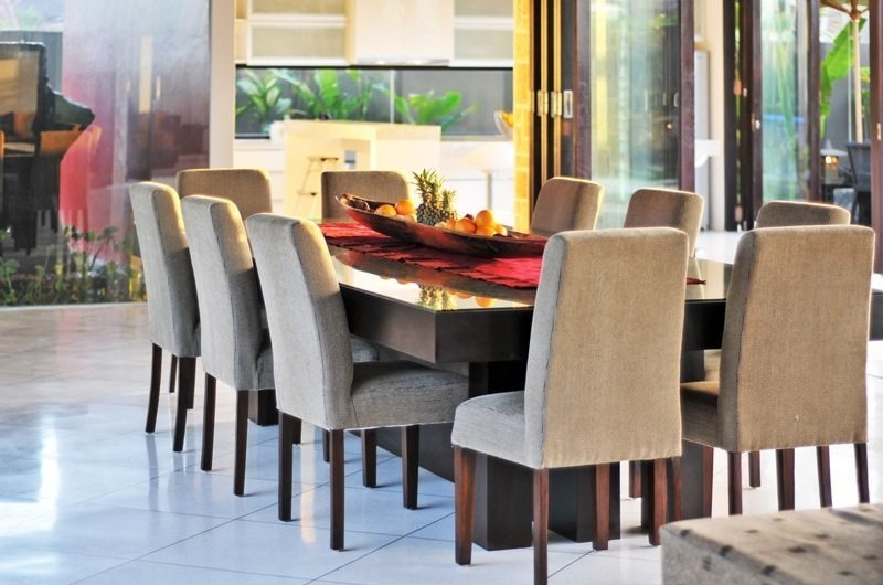 Dining Area - Samudra Raya Villa - Kerobokan, Bali