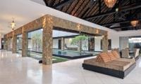 Pool Side - Samudra Raya Villa - Kerobokan, Bali