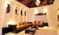 Indoor Lounge - Samudra Raya Villa - Kerobokan, Bali