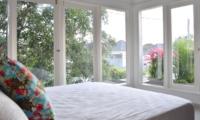 Bedroom with View - Santai Villa - Batubelig, Bali