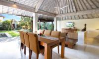 Dining Area - Serene Villas Hibiscus - Seminyak, Bali