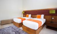Twin Bedroom - Serene Villas Hibiscus - Seminyak, Bali