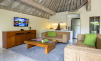 Family Area with TV - Serene Villas Hibiscus - Seminyak, Bali