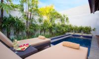 Sun Beds - Serene Villas Lotus - Seminyak, Bali