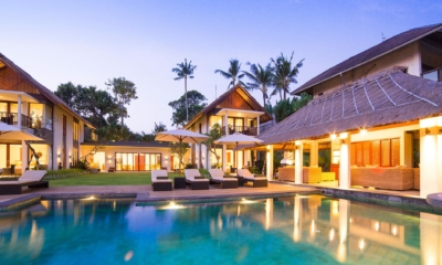 Pool at Night - Seseh Beach Villas - Seseh, Bali