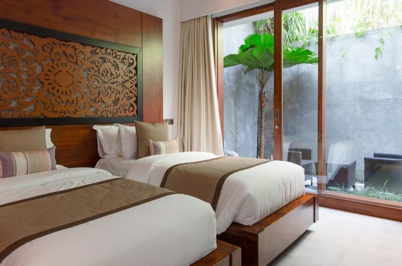 Twin Bedroom - Seseh Beach Villas - Seseh, Bali