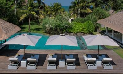 Reclining Sun Loungers - Seseh Beach Villa 2 - Seseh, Bali