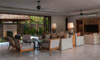 Indoor Living Area - Seseh Beach Villa 2 - Seseh, Bali