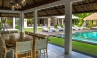 Dining Area - Seseh Beach Villa 2 - Seseh, Bali