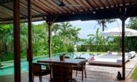 Pool Side Seating Area - Shalima Cantik - Seseh, Bali