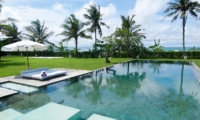 Swimming Pool with Sea View - Shalima Makanda - Seseh, Bali