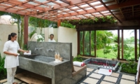 En-Suite Bathroom with Bathtub - Shalima Makanda - Seseh, Bali