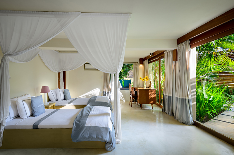 Twin Bedroom with View - Shalimar Kalima - Seseh, Bali